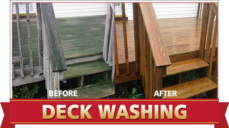 Deck Cleaning Done Right