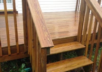 Steps and Rail After