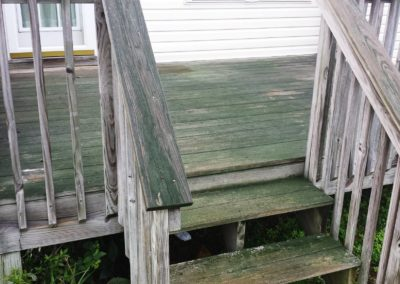 Steps and Rail Before