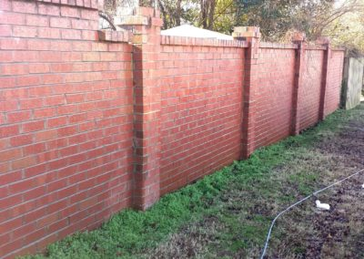 Sprayed Wall After